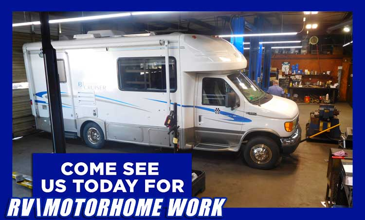 RV/Motor Home Work